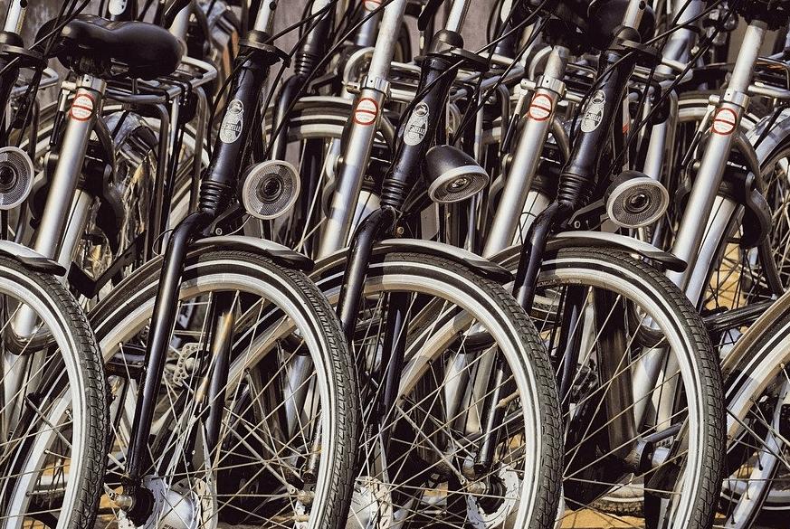 Varastotilaa polkupyörien säilyttämiseen