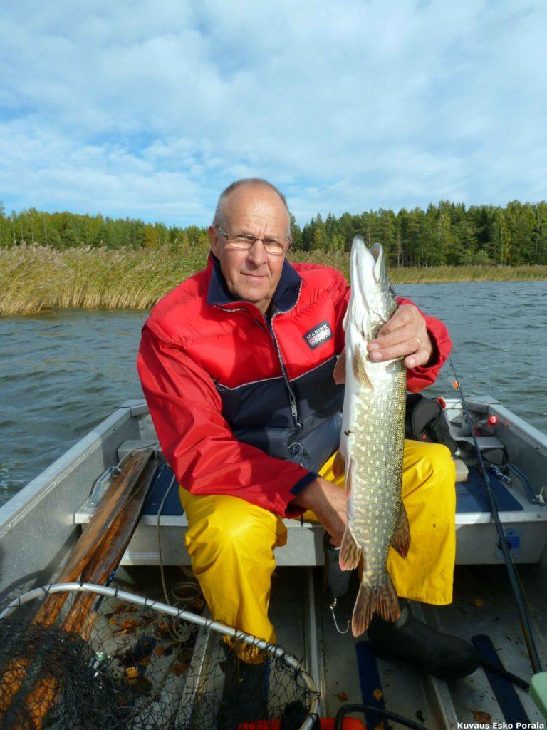 Kalastusta kymenlaaksossa