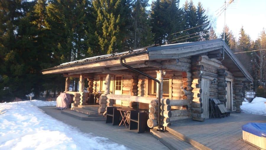 Kivikosken vuokramökki Pyhtäällä on buokrattavissa ympäri vuoden, myös talvella